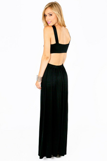 ESTHER SIDE SLIT MAXI DRESS 36