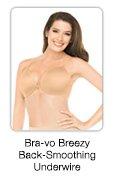 Bra-vo Breezy Back-Smoothing Underwire