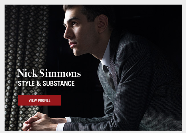 Style & Substance - Introducing Nick Simmons
