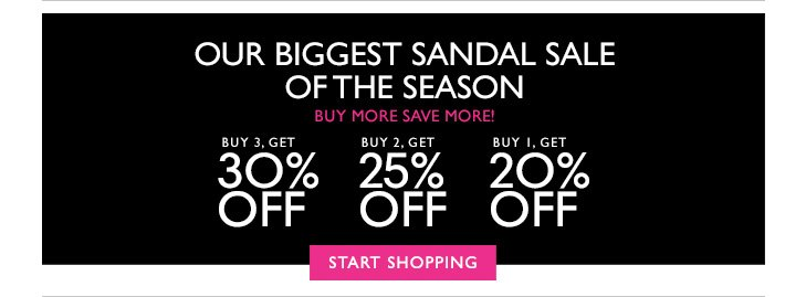 Click here to shop sandals.