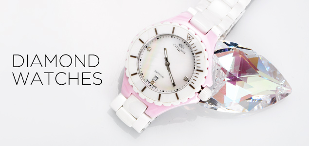 Diamond Watches by Charriol, Gucci & More