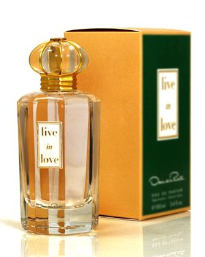 Oscar De La Renta Live In Love Eau de Parfum for Women- 3.4 oz.