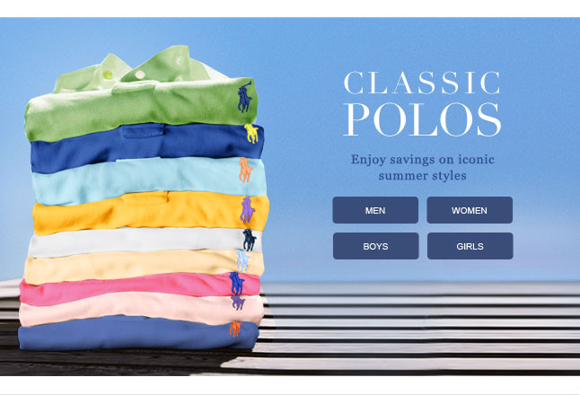 Classic Polos