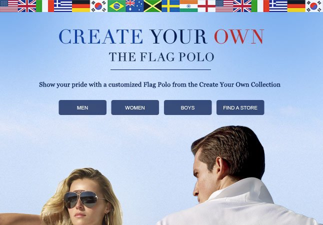 Create Your Own: The Flag Polo