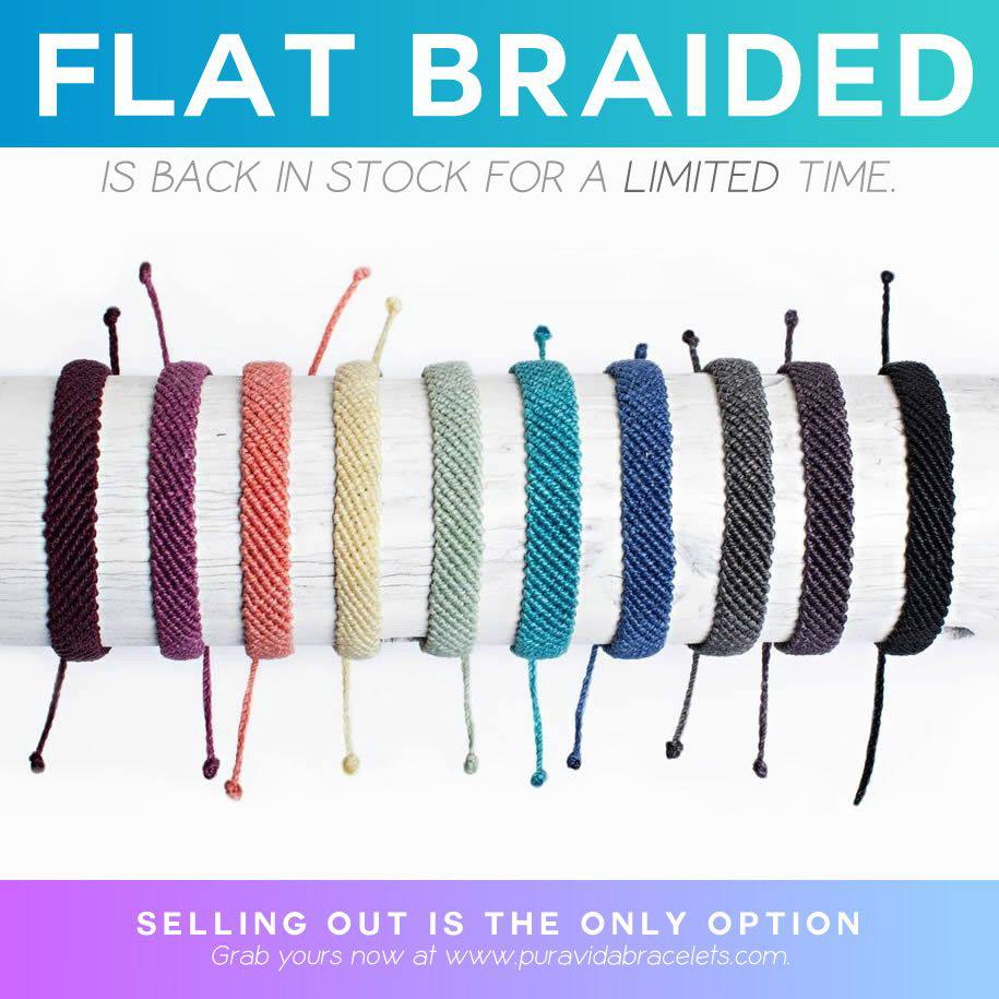 Flat Braided