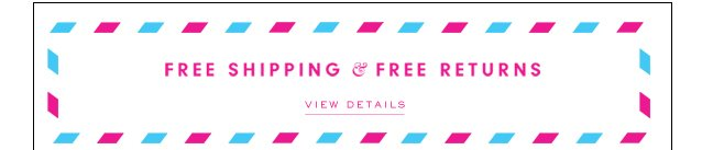 Free Shipping and Free Returns. View Details.