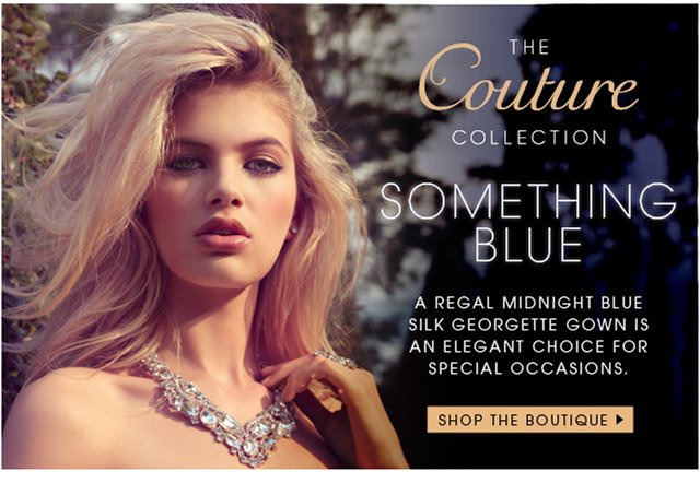 COUTURE COLLECTION SOMETHING BLUE