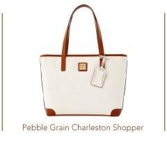 Pebble Grain Charleston Shopper