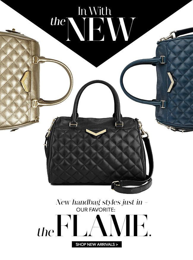 In with the New: New handbag styles just in