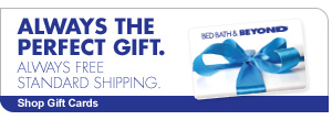 ALWAYS THE PERFECT GIFT. ALWAYS FREE STANDARD SHIPPING. Shop Gift Cards