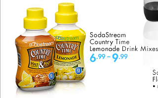 SodaStream Country Time Lemonade Drink Mixes 6.99-9.99