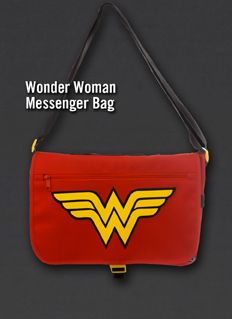 WONDER WOMAN MESSENGER BAG
