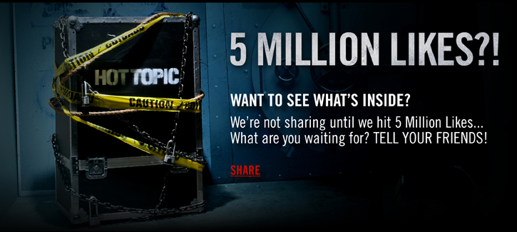 5 MILLION LIKES?!