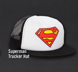 SUPERMAN TRUCKERHAT