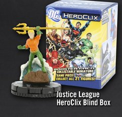 JUSTICE LEAGUE HEROCLIX BLIND BOX