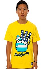 Peace Joint Tee in Yellow