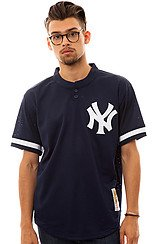 New York Yankees Bernie Williams BP Jersey in Navy