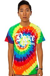 Peace Tie Dye Tee in Multi