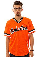 Baltimore Orioles Cal Ripken BP Jersey in Orange