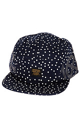 Dots Navigator Hat in Navy