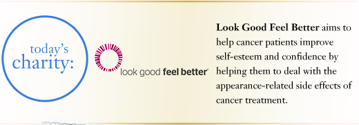 Look Good Feel Better philosophy hopes to encourage women that no matter how rough the road, may it be a graceful journey. our graceful journey shower gel is an uplifting gift for a friend or loved one going through cancer treatment or any hardships in their life, as a way to show your love and support. Look Good Feel Better aims to help cancer patients improve self-esteem and confidence by helping them to deal with the appearance-related side effects of cancer treatment.