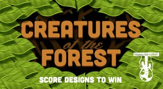 Creatures of the Forest - Score designs to win.