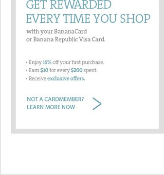 GET REWARDED EVERY TIME YOU SHOP