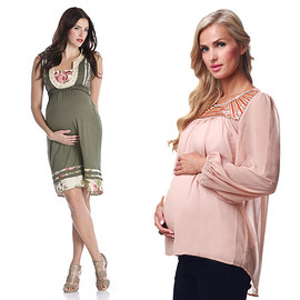 Soft & Feminine: Maternity Apparel