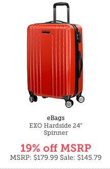 eBags EXO Hardside 24 In. Spinner