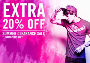 Shop Summer Clearance Event: 20% OFF