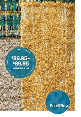 Harriet Rug $29.95-89.95