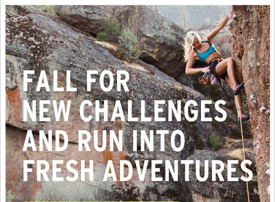 Fall for new challenges and run into fresh adventures.