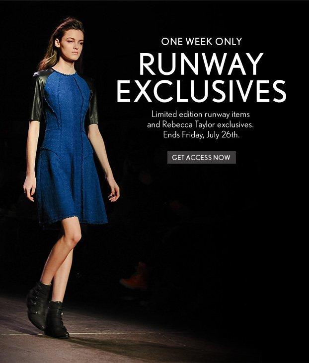 Runway Exclusives