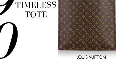 THE TIMELESS TOTE - LOUIS VUITTON