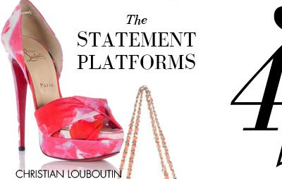 THE STATEMENT PLATFORMS - CHRISTIAN LOUBOUTIN