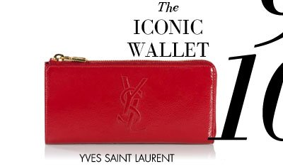 THE ICONIC WALLET - YVES SAINT LAURENT