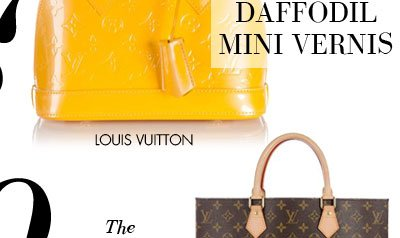 THE DAFFODIL MINI VERNIS - LOUIS VUITTON