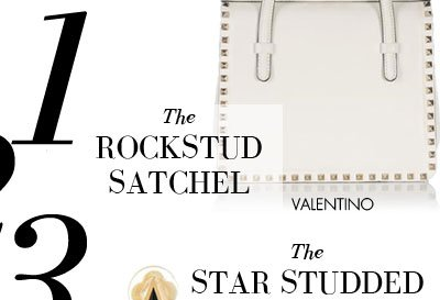THE ROCKSTUD SATCHEL - VALENTINO