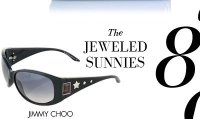 THE JEWELED SUNNIES - JIMMY CHOO
