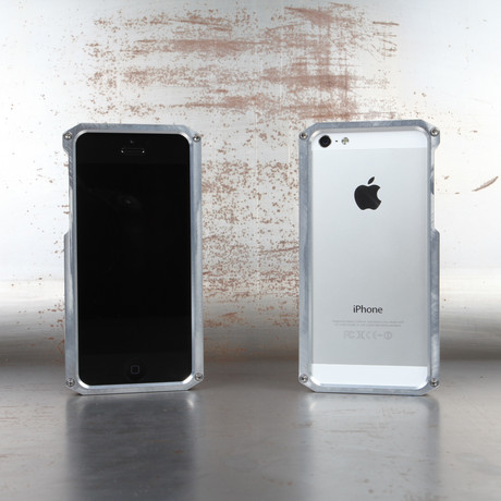 Alloy 5 iPhone Case // Silver
