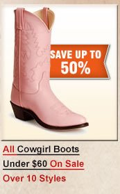 Cowgirl Boots under 60
