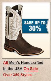 Mens Handcrafted in the USA