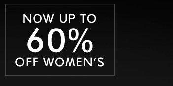 60% OFF WOMEN - Shop Now