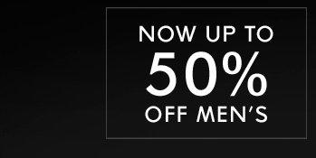 50% OFF MEN - Shop Now