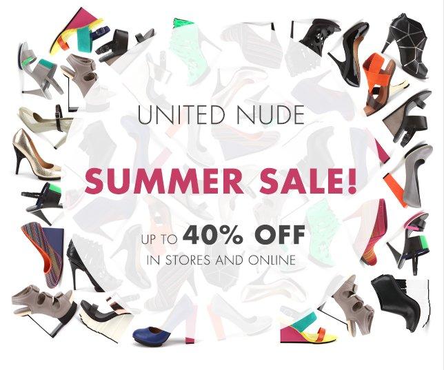 United Nude Summer Sale