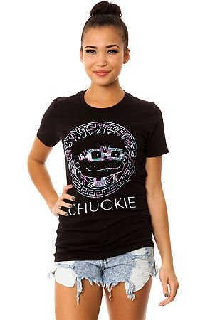 Click to Shop The Members Choice Floral Chuckie Tee in Black