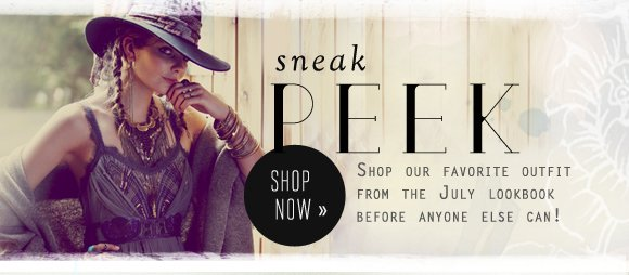 Sneak Peek: Shop our favorite outfit from the July lookbook before anyone else can! Shop now...