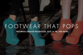 Footwear That Pops