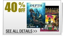 40% OFF SELECT PC Game Download