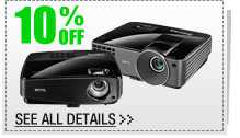 10% OFF SELECT BENQ Projectors